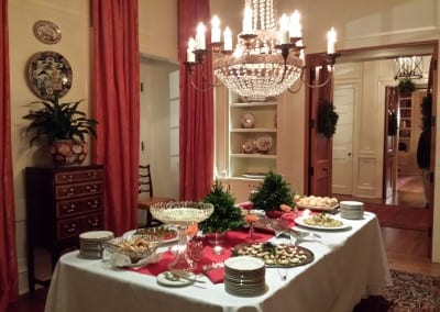 Elegant Christmas Buffet