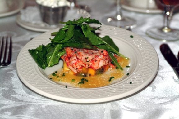 Lobster Timbale - Chef Michael's Catering