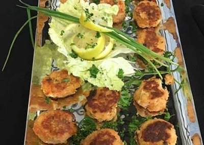 Finger Foods - Chef Michael's Signature Salmon Cakes