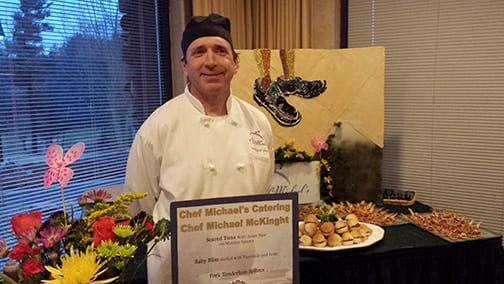 Chef Michael at Vintage Carolina 2014